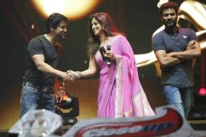 Vikram, Nadhiya, Prabhu Deva at Vijay Awards 2012 Stills