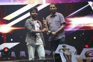 GV Prakash, Na.Muthukumar at Vijay Awards 2012 Stills