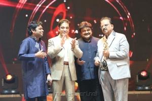 AR Rahman,Kamal,Prabhu,SPB at Vijay Awards 2012 Stills