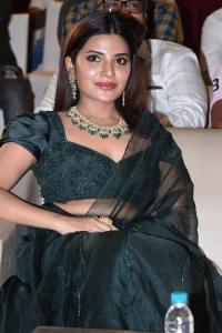 Actress Aathmika @ Vijaya Raghavan Pre Release Event Stills