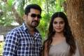 Vijay Antony, Aathmika @ Vijaya Raghavan Movie Press Meet Stills