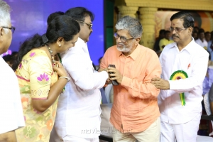 SA Chandrasekar, Kalapuli S Thanu @ Captain Vijayakanth 40 Years Celebration Photos