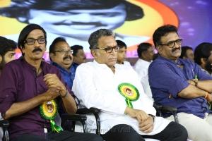 Manobala, Nassar, T Siva @ Captain Vijayakanth 40 Years Celebration Photos