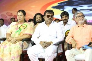 Premalatha, SA Chandrasekar @ Captain Vijayakanth 40 Years Celebration Photos