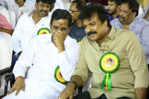 Kalapuli S Thanu, LK Sudhish @ Captain Vijayakanth 40 Years Celebration Photos