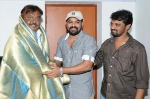 Tamil Director Ameer Sultan, Cheran Congratulated Vijayakanth Pictures Images