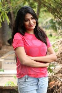 Actress Vijayalakshmi Agathiyan Hot Stills @ Pandigai Press Meet