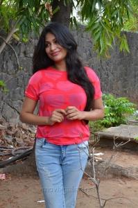 Producer Vijayalakshmi Agathiyan New Stills @ Pandigai Press Meet
