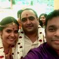 AR Rahman @ Vikram Kumar Marriage Photos