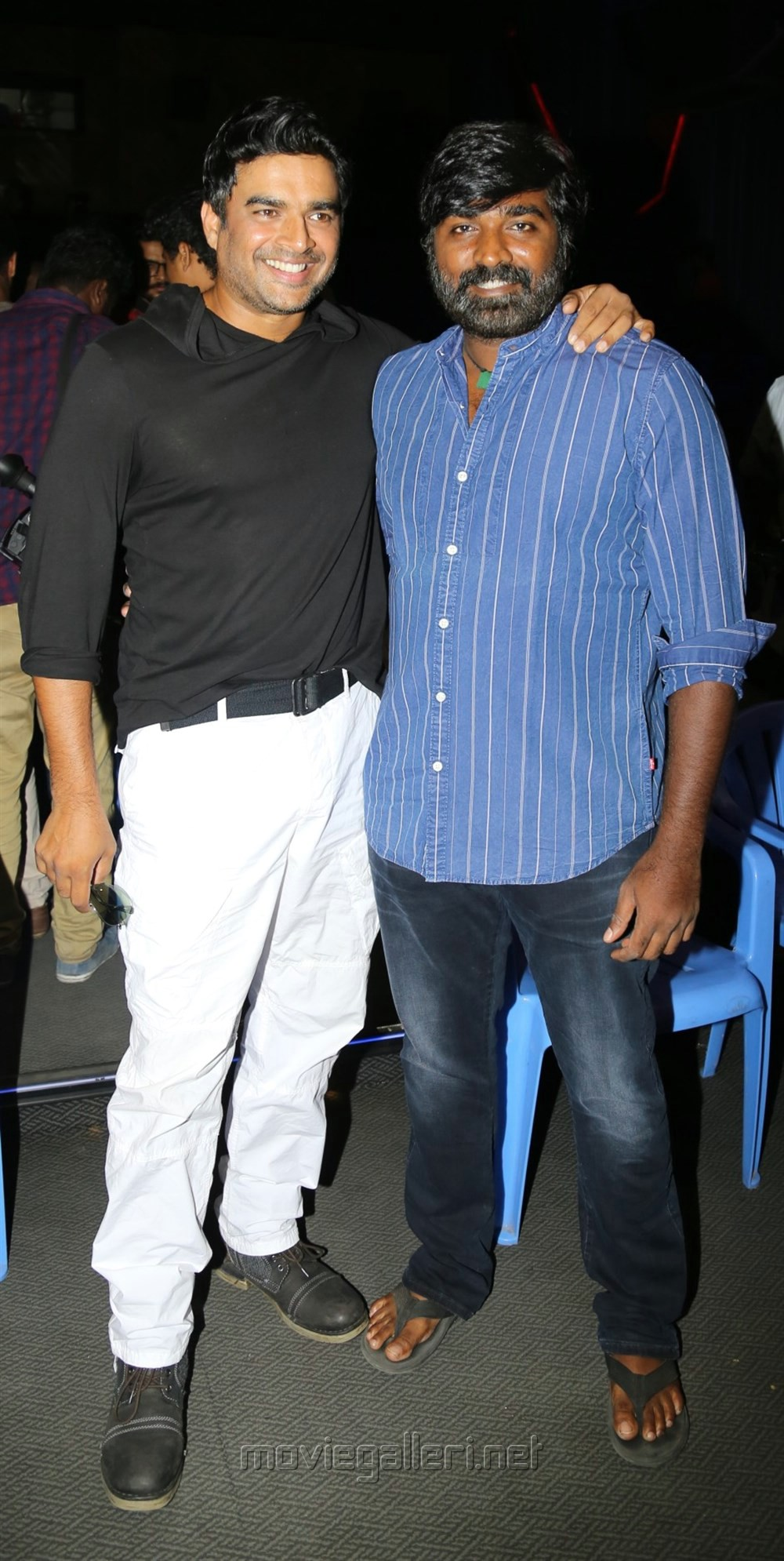 Madhavan, Vijay Sethupathi @ Vikram Vedha Press Meet Stills