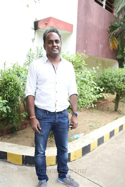 Producer S Sashikanth @ Vikram Vedha Press Meet Stills