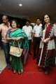 Latha rajinikanth, Soundarya R.Ashwin @ Vikrama Simha Curtain Raiser Photos in Hyderabad