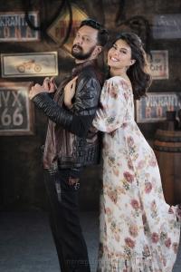 Sudeep, Jacqueline Fernandez in Vikrant Rona Movie HD Images