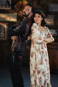 Sudeep, Jacqueline Fernandez in Vikrant Rona HD Images