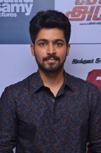 Harish Kalyan @ Vil Ambu Movie Audio Launch Stills