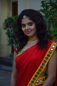 Actress Shravya @ Vilaiyattu Aarambam Audio Launch Photos