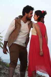 Yuvan, Shravya in Vilayattu Aarambam Movie Stills