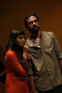 Sanchita Shetty, Ashok Selvan in Villa (Pizza 2) Telugu Movie Stills