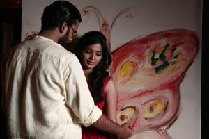 Ashok Selvan, Sanchita Shetty in Villa (Pizza 2) Telugu Movie Stills