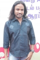 Lyricist Snehan @ Villangam Movie Pooja Stills