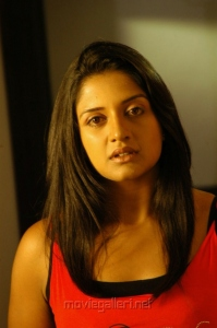 Vimala Raman in Red Dress