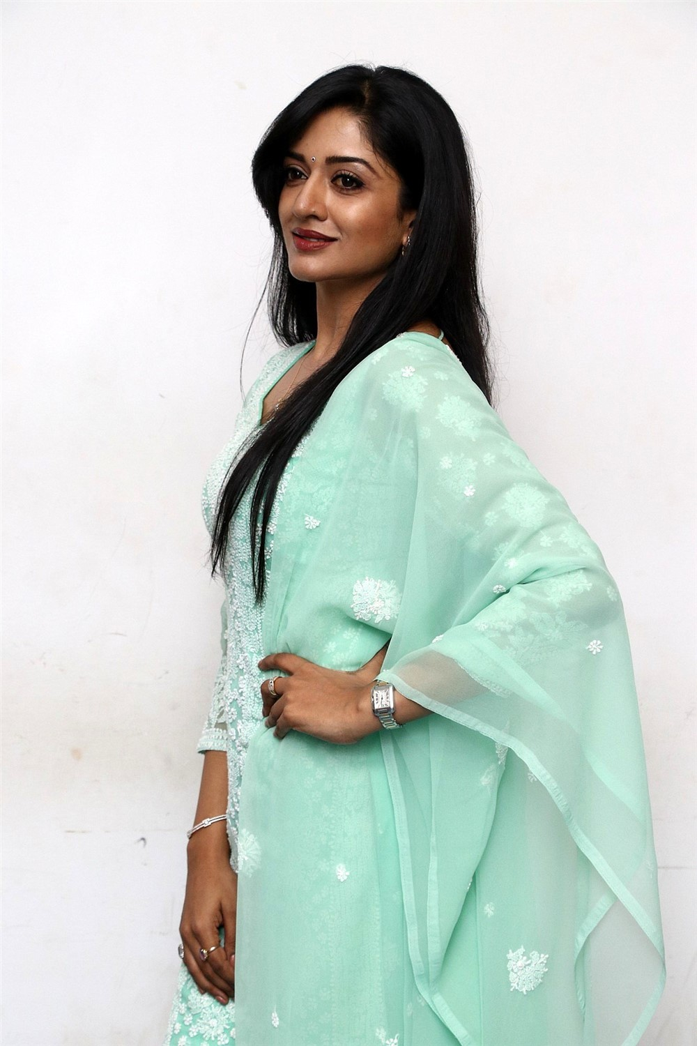Actress Vimala Raman New Images @ Iruttu Movie Press Meet