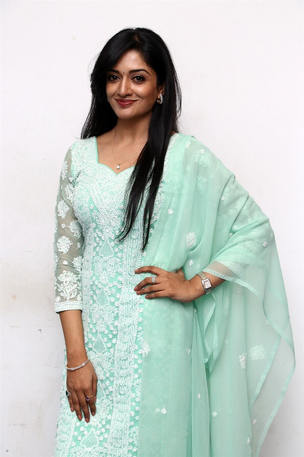 Actress Vimala Raman Images @ Iruttu Movie Press Meet