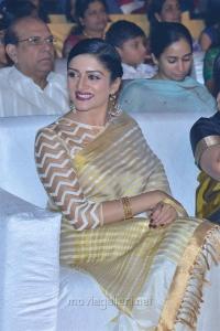 Actress Vimala Raman Stills @ Om Namo Venkatesaya Audio Launch