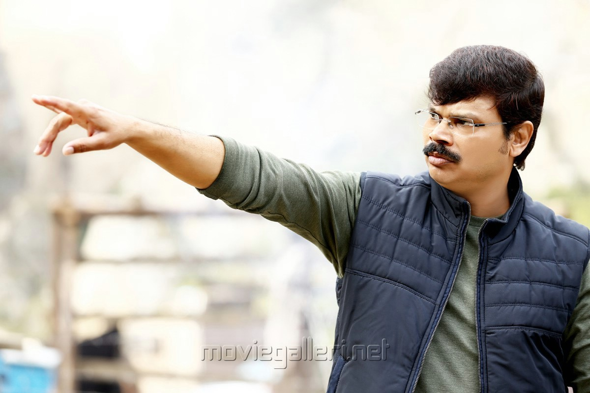 Director Boyapati Srinu @ Vinaya Vidheya Rama Movie Working Stills