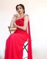 Telugu Anchor Vindhya Vishaka Photos in Red Dress