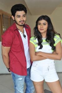 Naga Anvesh, Heebah Patel in Vinnaithandi Vantha Angel Movie Stills