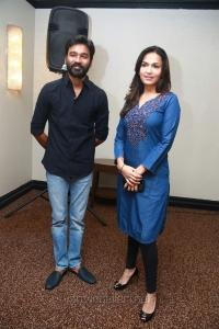 Dhanush, Soundarya Rajinikanth @ VIP 2 Movie Success Meet Stills