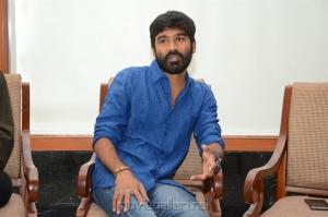 Actor Dhanush @ VIP 2 Team Interview Photos