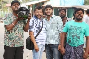 Ashwin Raja, Thambi Ramaiah, Sanjay, Murugadoss in Virumandikum Sivanadikum Movie Photos