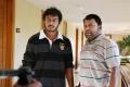 Sanjay, Thambi Ramaiah in Virumandikum Sivanadikum Movie Photos