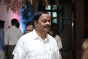 AC Shanmugam @ Vishagan Soundarya Rajinikanth Marriage Photos HD
