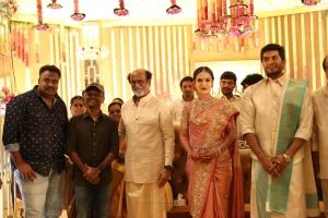 AR Murugadoss @ Vishagan Soundarya Rajinikanth Marriage Photos HD