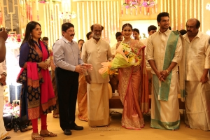 Dayanidhi Maran @ Vishagan Soundarya Rajinikanth Marriage Photos HD