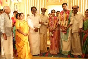 Su. Thirunavukkarasar @ Vishagan Soundarya Rajinikanth Marriage Photos HD