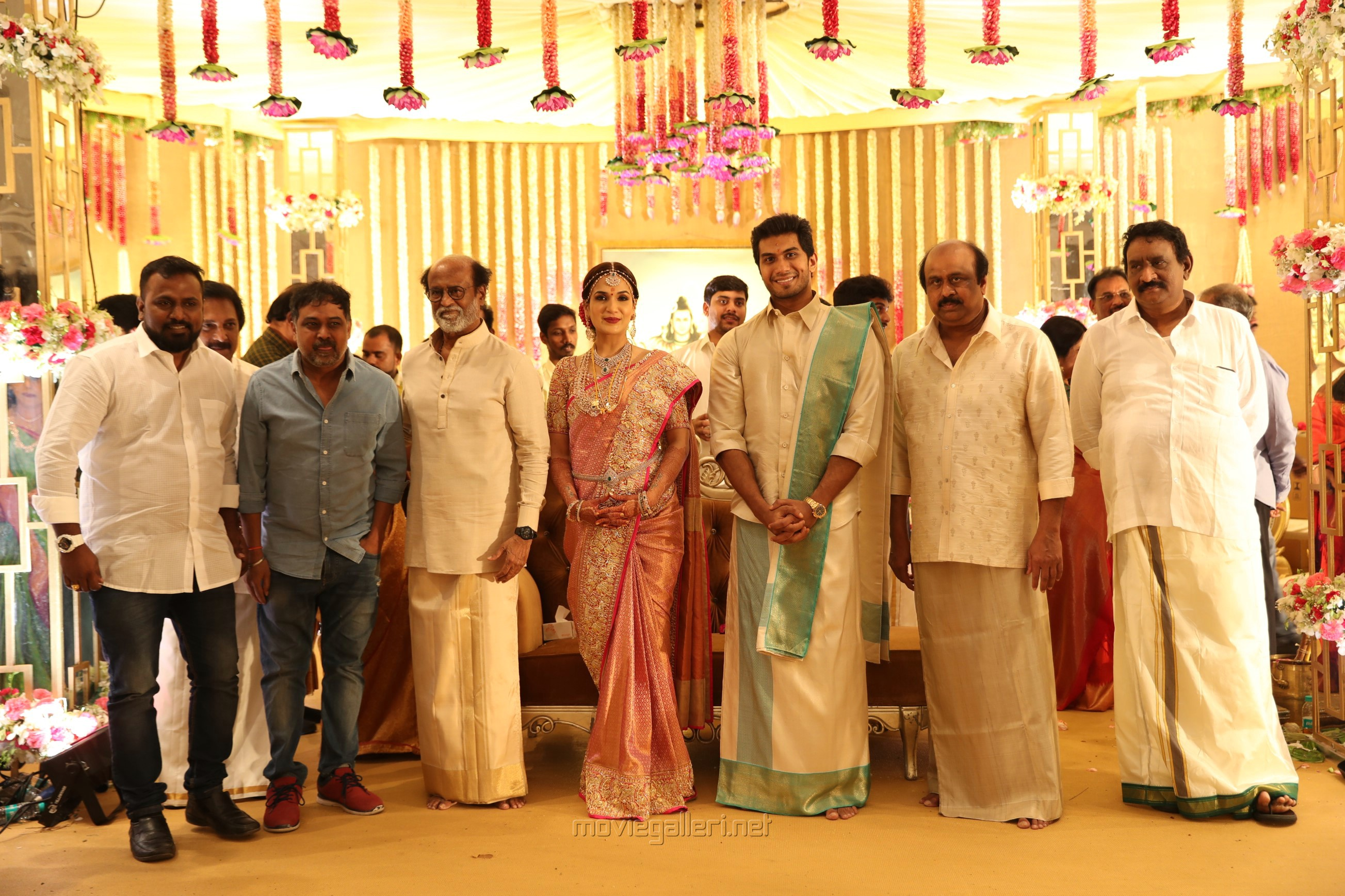 N. Lingusamy @ Vishagan Soundarya Rajinikanth Marriage Photos HD