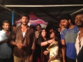 Varalakshmi Sarathkumar @ Actor Vishal Birthday Celebration 2013 Stills