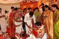 Janaki Devi @ Actor Vishal sister Aishwarya Marriage Photos