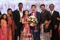 Aarthi Mohan, Arun Vijay @  Vishal sister Aishwarya Wedding Reception Stills