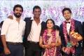 Actor Ashok Selvan @ Vishal sister Aishwarya Wedding Reception Stills