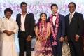 Actor Rajkiran @ Vishal sister Aishwarya Wedding Reception Stills