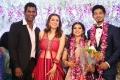 Actress Hansika Motwani @ Vishal sister Aishwarya Wedding Reception Stills