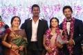 Actress Seetha @ Vishal sister Aishwarya Wedding Reception Stills