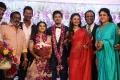 Aishwarya Arjun, Asha Rani @ Vishal sister Aishwarya Wedding Reception Stills