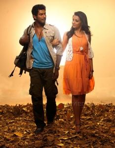 Vishal Krishna & Trisha in Samar Telugu Movie Stills