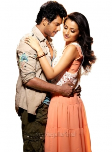 Vishal Trisha New Movie Photos